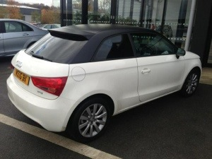 Audi A1 Wrapped