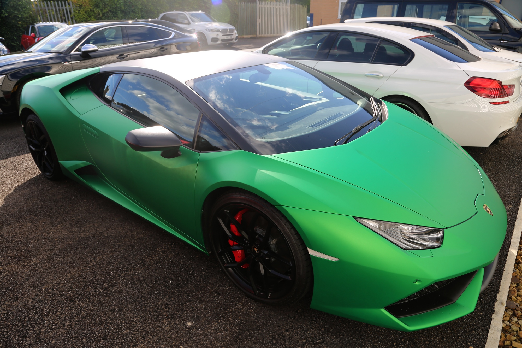 vehicle wrapping huddersfield LAMBORGHINI HURACAN