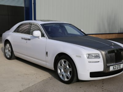 vehicle wrapping huddersfield ROLLS ROYCE GHOST