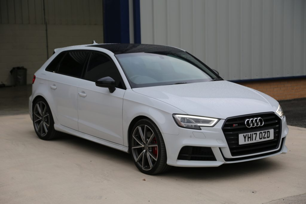Audi S3 Windows tinted