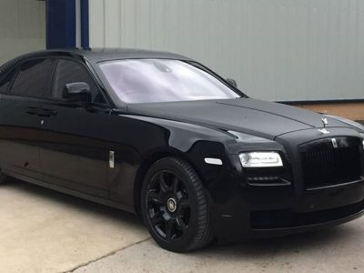 Rolls Royce Ghost Wrapped