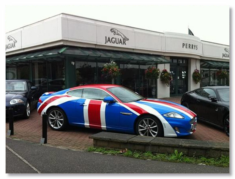 Jaguar Wrap Vehicle Wrapping Huddersfield