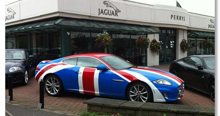 Jaguar Wrap Vehicle Wrapping Huddersfield Vehicle