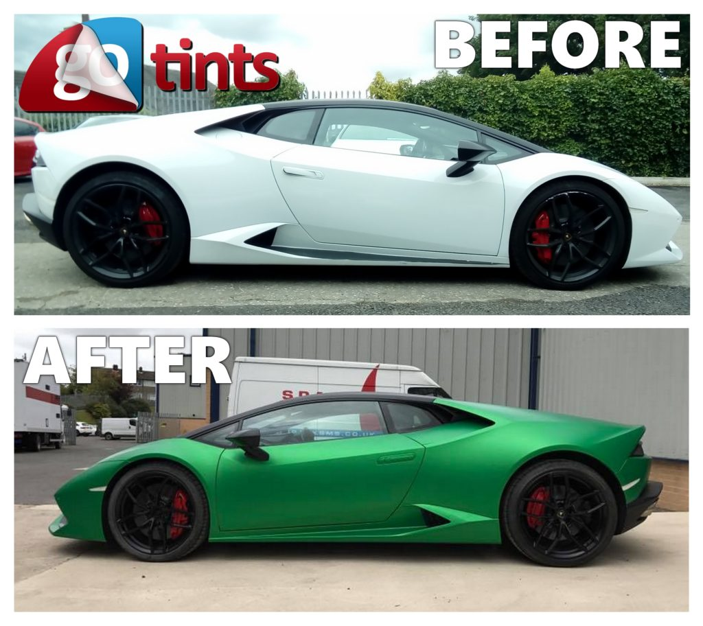 vehicle wrapping huddersfield go tints LAMBO